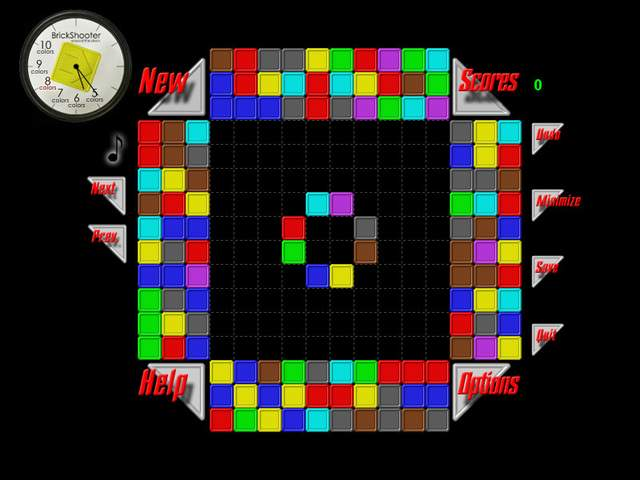 Brickshooter. Free download brick-shooter game.