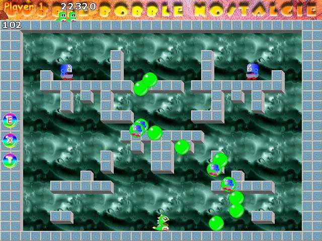 Download Bubble Bobble - download arcade game.