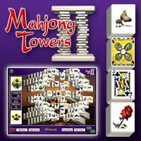 Mahjong Towers Game