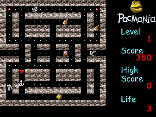 Free download Pacman game, Pacman download