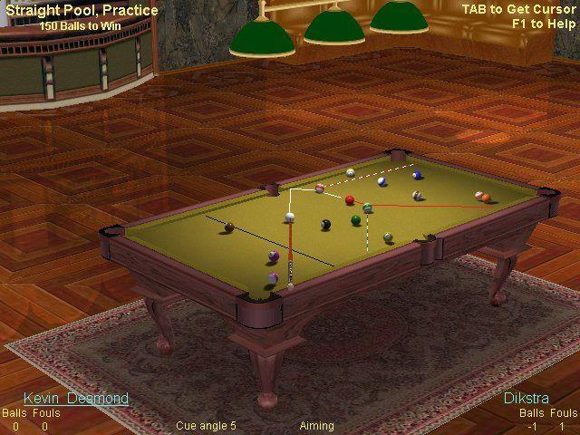 لعبة بلياردو جميلة live billiards