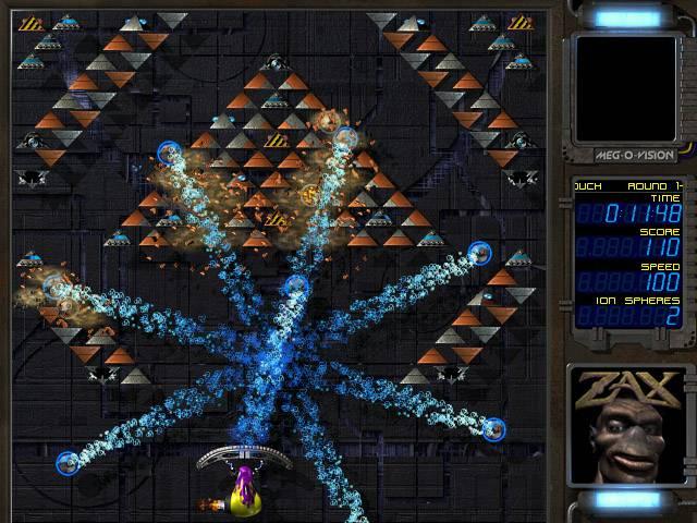 اللعبة الشهيرة Ricochet Xtreme